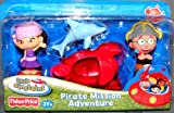 : Little Einsteins 4 Inch Figure 2-Pack Pirate Mission Adventure