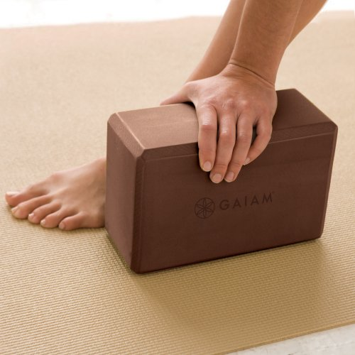 Gaiam Yoga Block, Chai