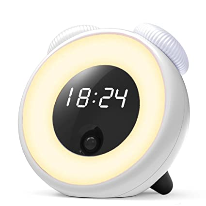 Smart Alarm Clock >> Amazon Com Foladion Smart Alarm Clock Electric Digital Clock Body