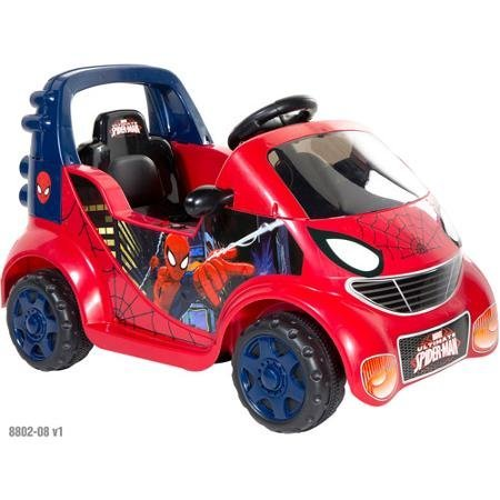 Spider-man 6-volt Small Car Ride-on by Spider-Man