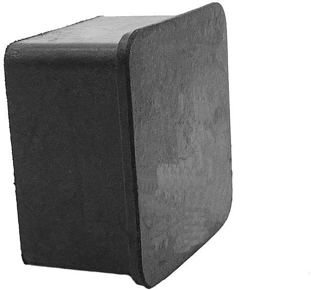 Flyshop 10Pcs Black Chair Leg Caps Feet Pads Silicone Floor Protectors Square Furniture Table Covers 1-1//2 Inches