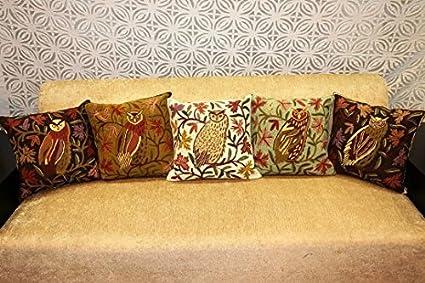 Amazon Com India Carpet And Textile Handmade Owl Design Chain