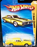 Hot Wheels 2010 New Models 36/44 Yellow '71 DODGE CHARGER 036/240 1:64 Scale Collectible Car
