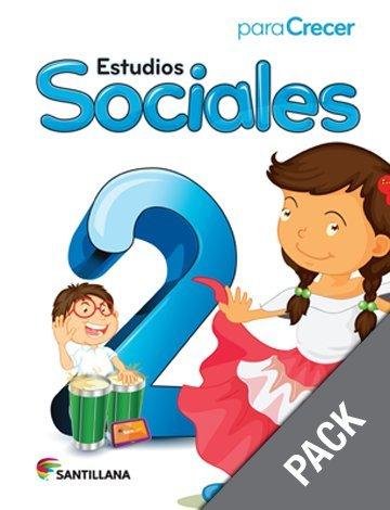 Download Estudios Sociales 2 (Pack) (Para Crecer) pdf