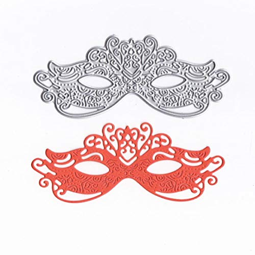 Cutting Dies Christmas,Lace Mask Metal Cutting Dies Card Making Scrapbooking Stencils Album Paper Card Craft Embossing DIY Decorative Background]()
