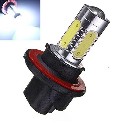 ISSEC 2 x H13 9008 6000K 7.5W CREE COB LED DRL Headlight Lamps