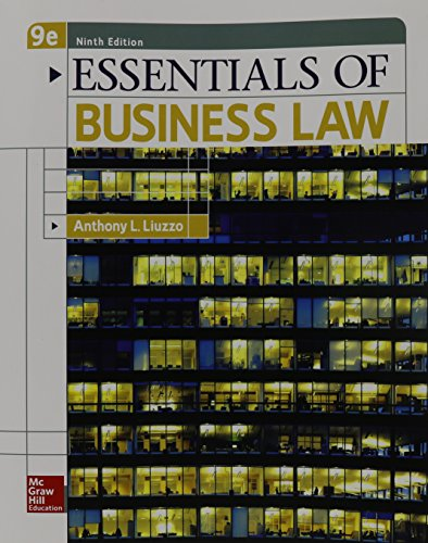 Pdf Law Essentials of Business Law