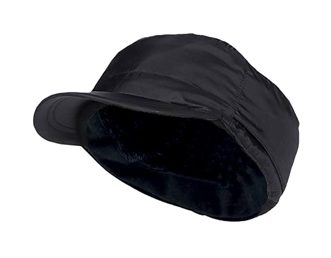7764e308 Heat Holders Mens Waterproof Fleece Lined Warm Thermal Hunting Cap Hat with  Brim (S/