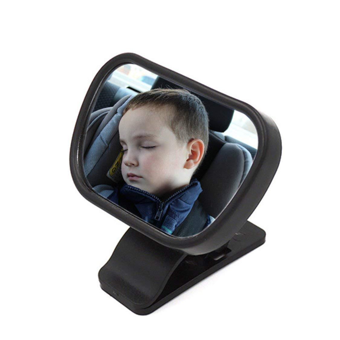 Asiento de coche con espejo retrovisor para beb/és 2 en 1 Espejo interior
