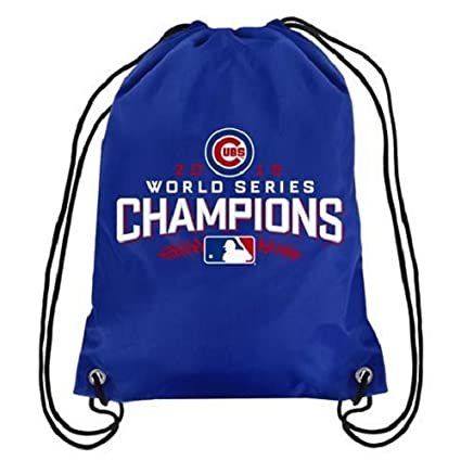 f65edbffc31 Amazon.com   MLB Chicago Cubs 2015 World Series Champions Drawstring  Backpack