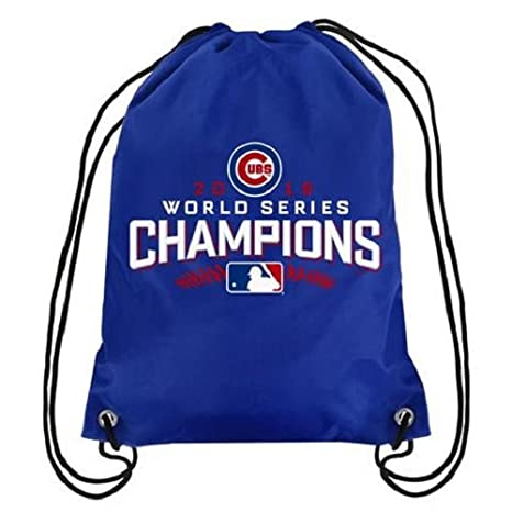 3e0a132c7ef Image Unavailable. Image not available for. Color  MLB Chicago Cubs 2015 World  Series Champions Drawstring Backpack ...