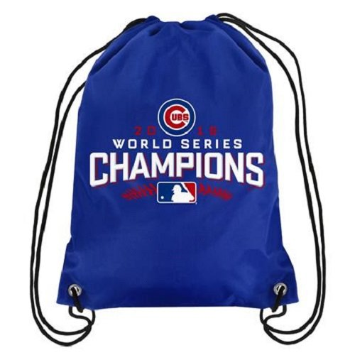 - MLB Chicago Cubs 2015 World Series Champions Drawstring Backpack, Standard Size