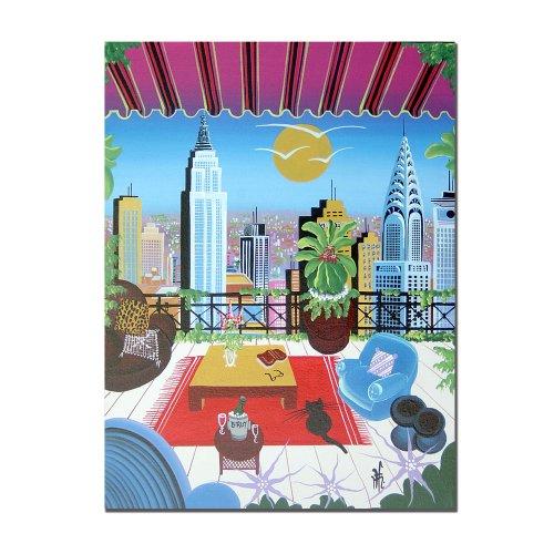 trademark-fine-art-cafe-new-york-by-herbert-hofer-canvas-wall-art-24x32-inch