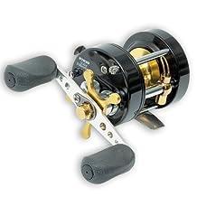 Rapala RTR15 R-Type Ultra Light Round Bait Cast Reel, 3 Ball Bearings, 3.2:1 Gear Ratio, 4.6 oz, Right Hand Retrieve, Size 15