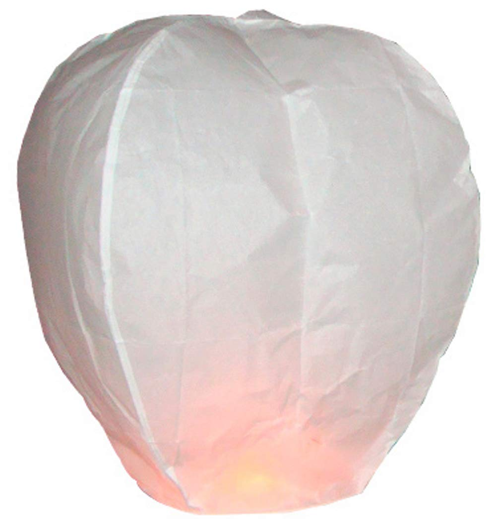 Eco Friendly Chinese Sky Lanterns - Pack of 5 by Sky Lanterns Ltd.