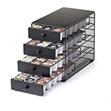 Nifty 4-Tier 72 K-Cup Capacity Storage Drawer, Black