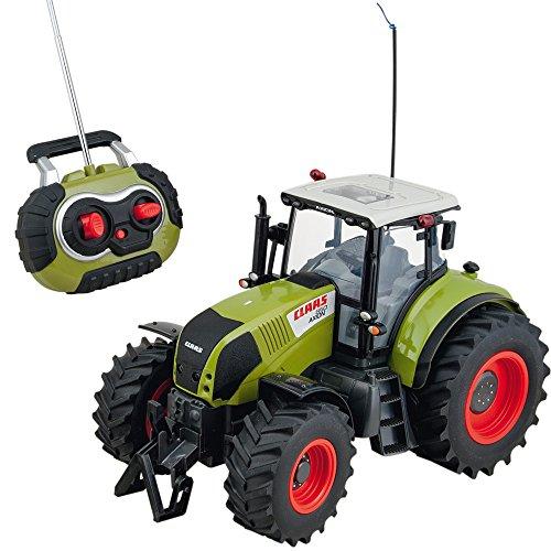Ferngesteuerter Traktor, Claas Axion 850, Licht, Maßstab 1:16, 43c | RC Ferngesteuert Fahrzeug Spieltrecker Trecker Schlepper