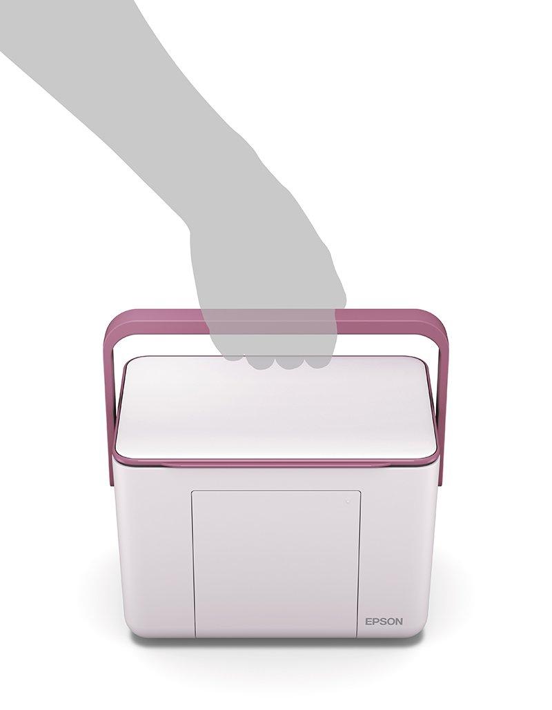 Epson impresora compacta Colorio Me e-370p rosa: Amazon.es ...