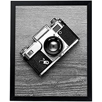 Americanflat 16x20 Poster Frame - Thick Moldings - Black