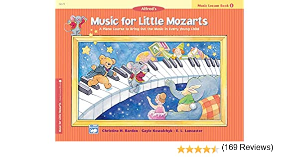 Music for Little Mozarts Book 1 Children/'s Learn to Play Piano Beginner Method