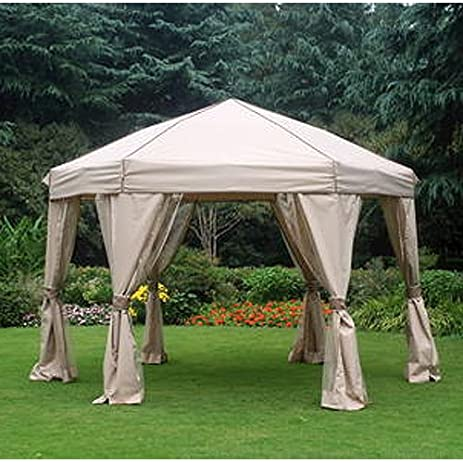 12 Ft Portable Hexagon Gazebo Replacement Canopy & Amazon.com : 12 Ft Portable Hexagon Gazebo Replacement Canopy ...