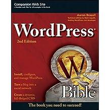 WordPress Bible by Aaron Brazell (2011-04-12)