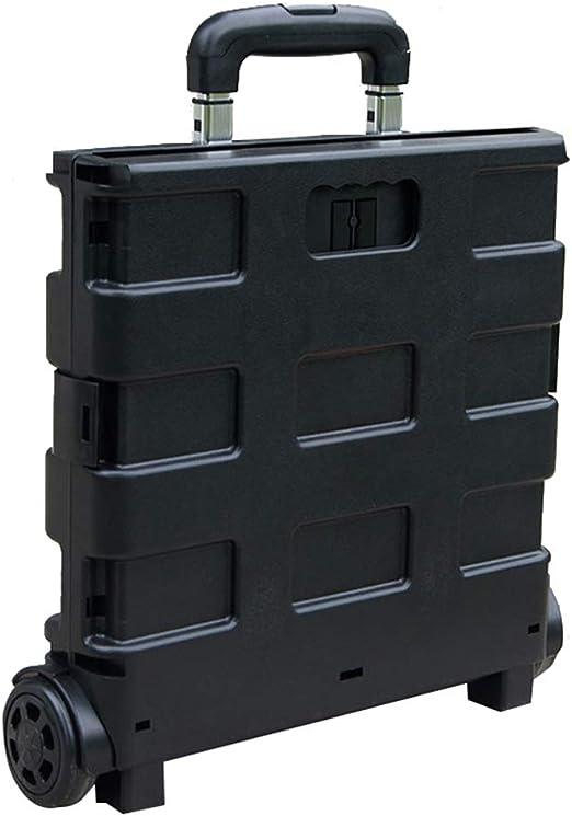 QAQWER Carrito De La Compra Plegable De Plástico,Caja De ...