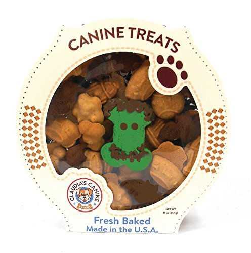 Claudia's Canine Bakery Gourmet Halloween Theme Dog Treats (Frank-ly - Dog Cookies Halloween