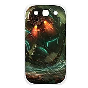 Nautilus-001 League of Legends LoL For Case Samsung Galaxy S3 I9300 Cover Plastic White
