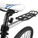 Ibera PakRak IB-RA11 Rejilla para bicicleta estilo asiento