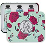 La Chatelaine 20% Shea Butter Hand Cream Tin Beauty Gift Set with Organic Argan Oil , Hydrating , Nourishing , Extra Rich , Non-Greasy – Gardenia or Coconut Milk; Shea; Almond or Lychee Cran 3x1fl oz