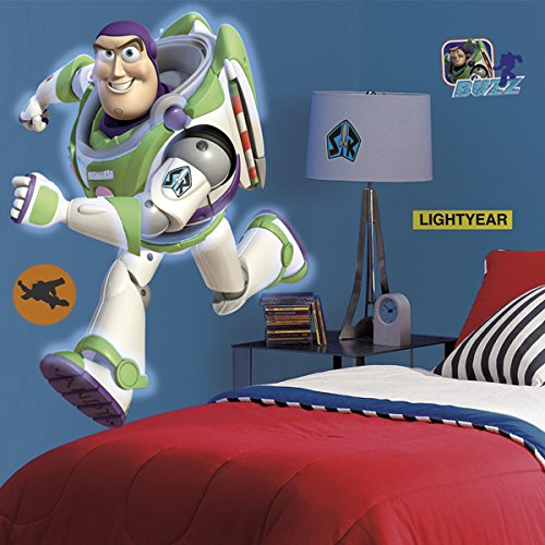 RoomMates Toy Story Buzz Giant Peel and Stick Wall Decal by RoomMates (Image #2)