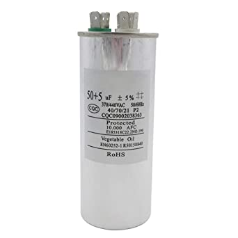 Amazon.com: Carkio CBB65 condensador de arranque circular de ...