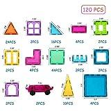 BMAG 120 PCS Magnetic Building Blocks, 3D Magnet