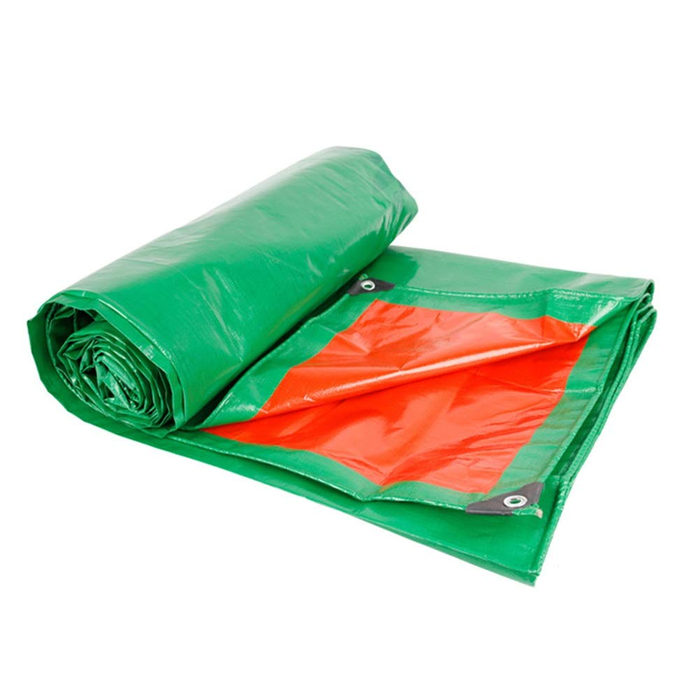 3m×5m ZZHF BÂche imperméable BÂche Verte de Tissu Imperméable, Tissu Antipluie Anti-corrosif Et Anti-oxydation Tissé à Haute Densité pour des Tentes de Camping bÂche (Taille   3m×4m)
