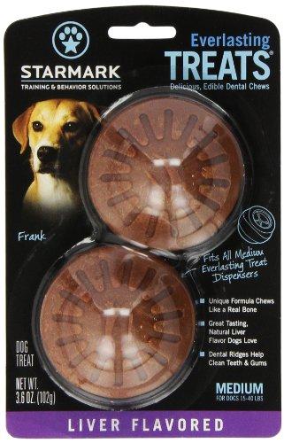 Starmark Everlasting Treat For Dogs, Liver, Medium