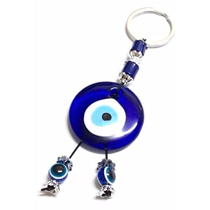 youjian azul ojo turco griego clave cadena, bolso de mano ...