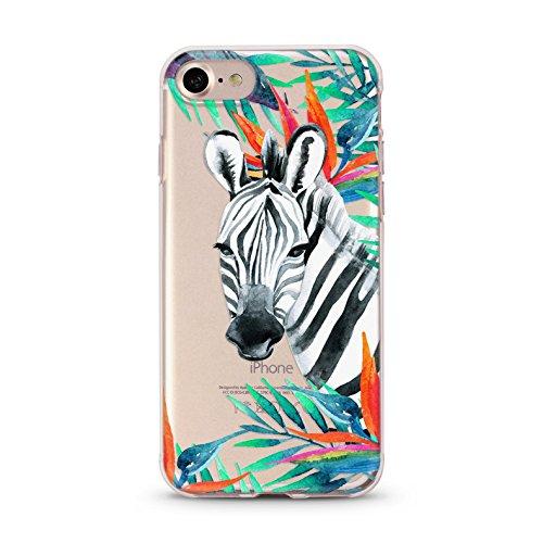 iphone-7-soft-tpu-phone-case-tropical-zebra-skin-kase