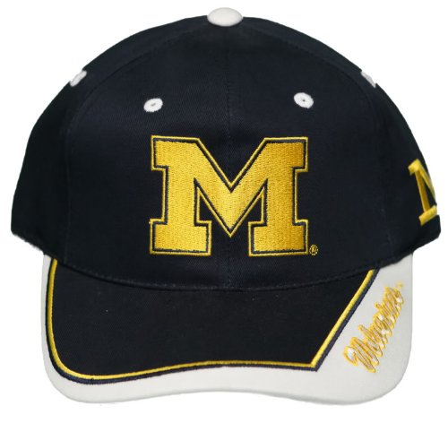 NEW! University of Michigan Wolverines Buckle Back Hat - Embroidered Cap