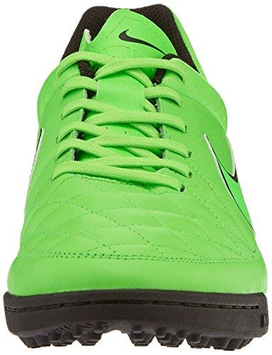 Nike Tiempo Genio Leather TF, Herren Fußballschuhe, Grün (Green Strike/Green Strike/Black/Black), 42.5 EU