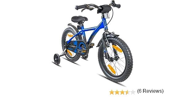 Prometheus Bicicleta Infantil | 16 Pulgadas | niño y niña | Azul ...