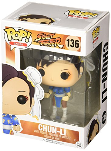 Funko Street Fighter Chun-Li Pop Games Figure (Chun Li Anime)