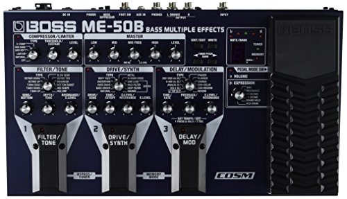 BOSS Audio Electric Guitar Single Effect (ME-50B)