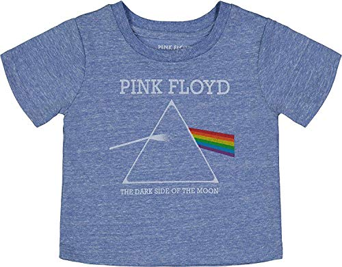 - Pink Floyd Toddler Boys' Rock Band Graphic T-Shirt Dark Side of The Moon, Blue (3T)