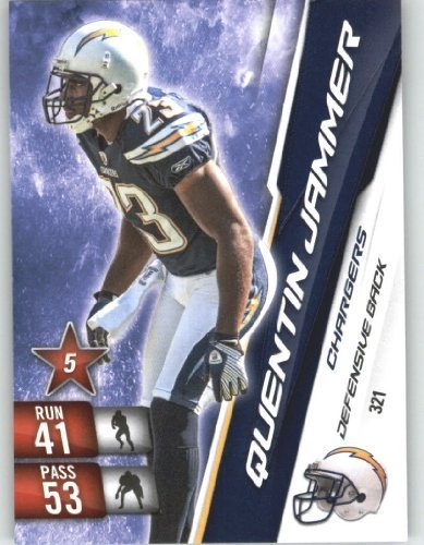 2010 Panini Adrenalyn XL NFL Trading Card #321 Quentin Jammer - San Diego Chargers - NFL Trading Card ()