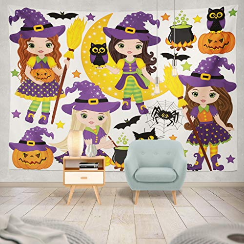 ONELZ Decor Collection, Halloween with Cute Little Owls
