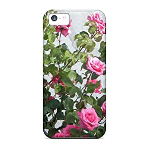 Hot New Garden Roses Case Cover For Iphone 5c With Perfect Design