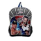 WWE Boy's 16 Inch Backpack - John Cena and Cm Punk