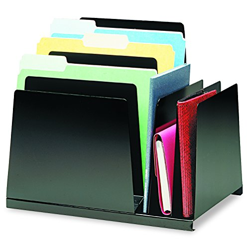 Steelmaster Combination Vertical Slant Organizer, 1 Each (2648S2VBK)