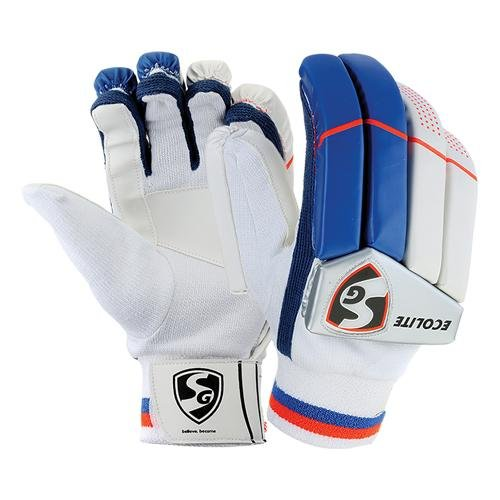 SG Ecolite Cricket Batting Gloves,Right Hand-Boys by SG